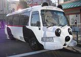 浅草寺界隈を走るバス