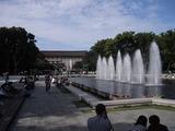 最近リニューアルした上野公園の噴水