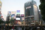先週土曜夕方の渋谷にて