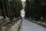 鳥居を潜るとかなりキツい階段が:鹽竈神社にて(宮城県塩釜市)