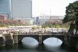 皇居二重橋:平成24年一般参賀にて