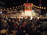 六本木ヒルズの盆踊り大会にて