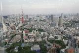 森タワー(六本木ヒルズ)40階からの眺め