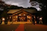 原宿にて:夕暮れの東郷神社