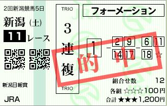 170812新潟11R