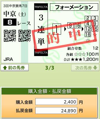 170722中京8R