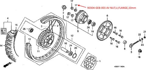 CT110X Rear wheel-2