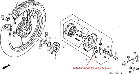 CT110 Rear wheel-2