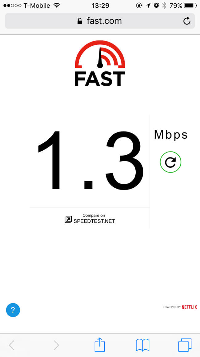 WiFi Speed | Kells Brewery
