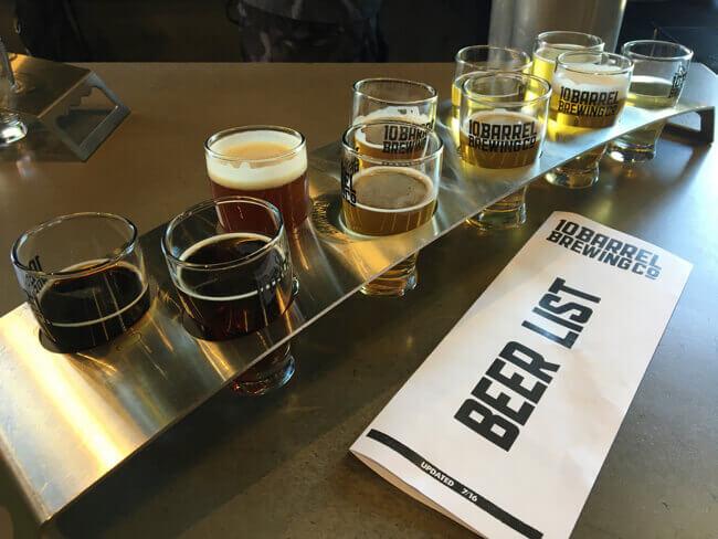 ビール試し飲みセット2 - 10 Barrel Brewing Co