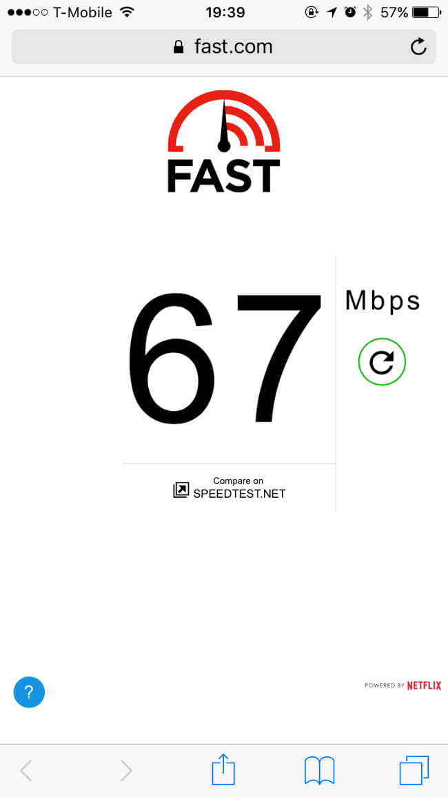 Wi-Fi Speed | Fat Head's Brewery | Portland
