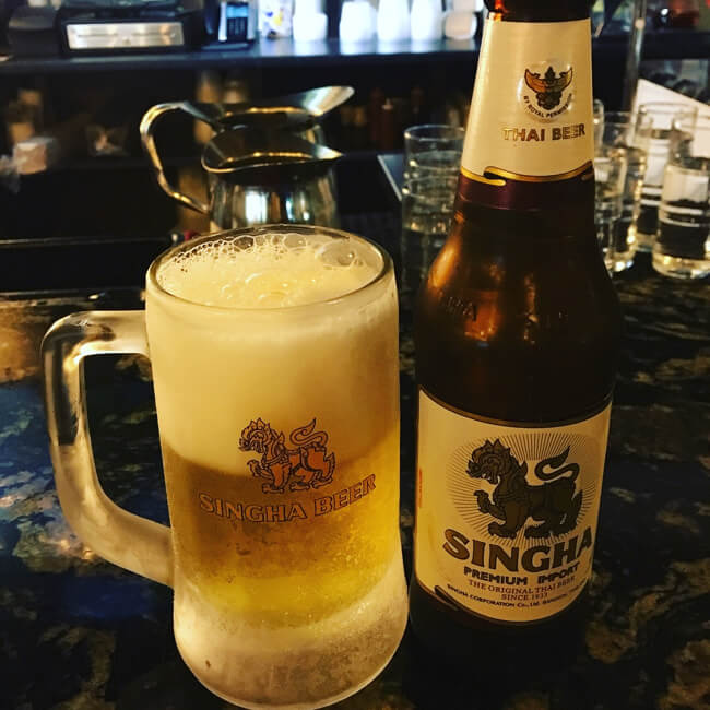 シンハービール SINGHA BEER - タイ料理店 Thai Bloom!