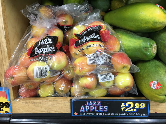 Jazz Apples 🍎 | TRADER JOE'S (トレーダージョーズ)