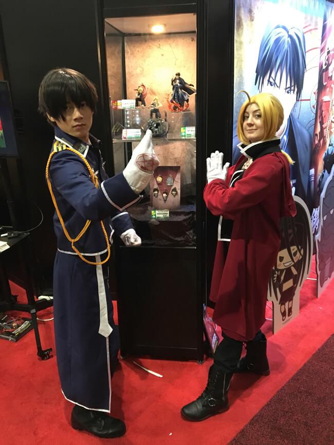 エドワード・エルリック、ロイ・マスタング Anime Expo 2017