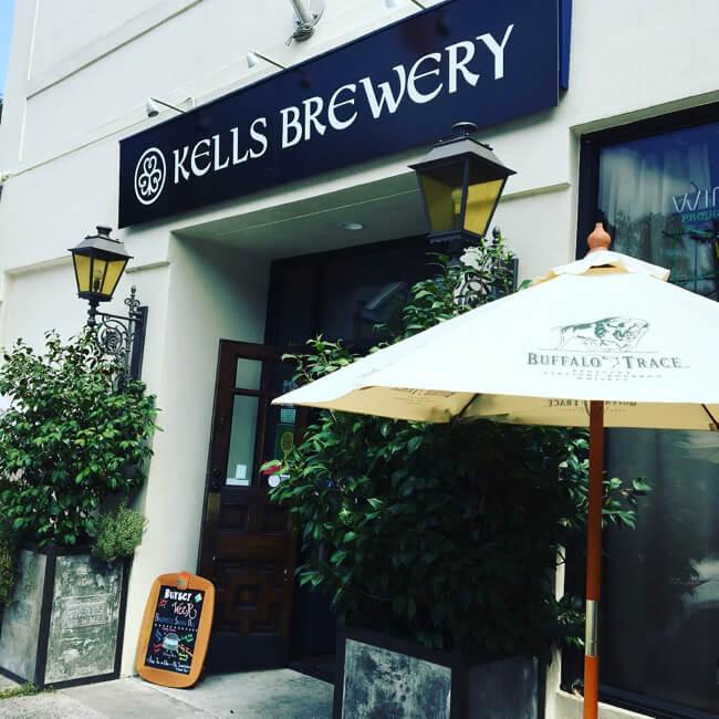 店の外観 | Kells Brewery