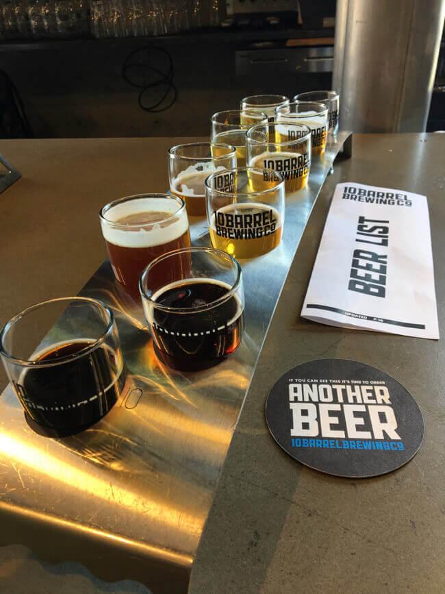 ビール試し飲みセット3 - 10 Barrel Brewing Co