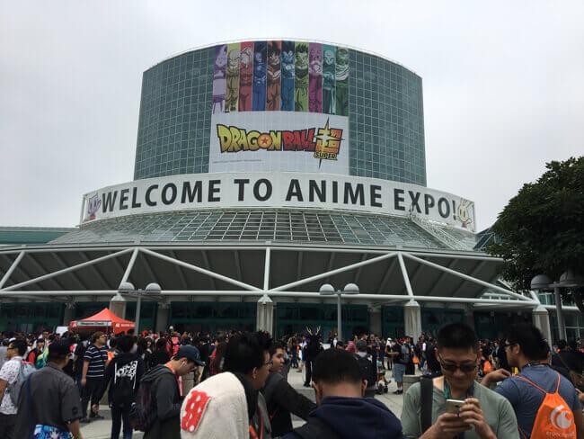 Anime Expo 2017 会場正面
