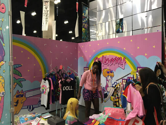 galaxy at Anime Expo 2017