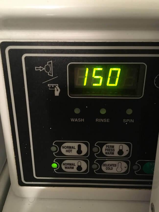 洗濯機の金額 - コインランドリー