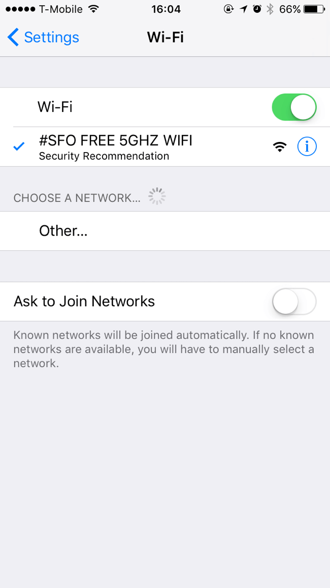 WiFi Speed | San Francisco International Airport