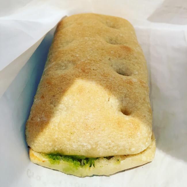 焼きたてのサンドイッチ(中身) スターバックス ポートランド