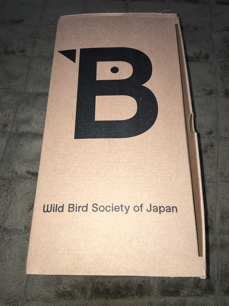 Wild Bird Society of Japan 箱