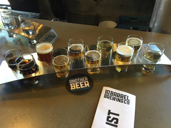 ビール試し飲みセット1 - 10 Barrel Brewing Co