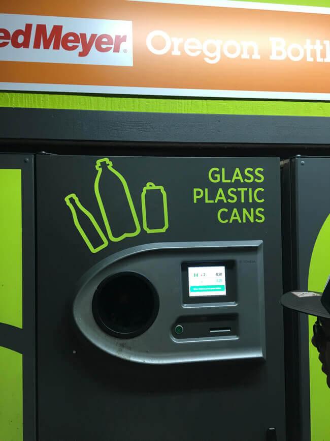 ゴミを現金に交換するマシーン
