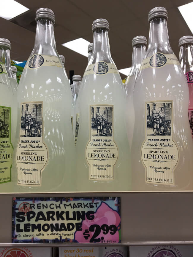 Sparkling Lemonade | TRADER JOE'S (トレーダージョーズ)