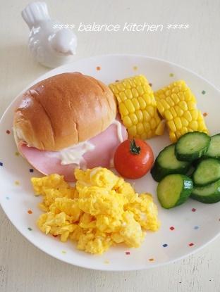 キッズ食育 ランチ サンドイッチ作り8