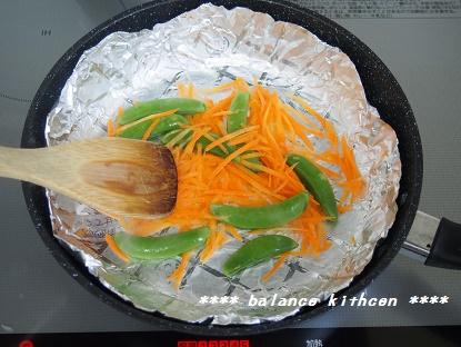 ツナコーンパンケーキサンド工程3