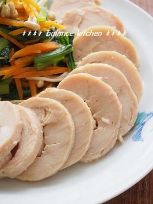 ハニーオイスター鶏ハム3