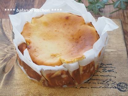 カラメルりんごの豆乳チーズケーキ4