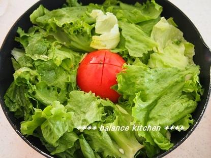 蒸し野菜サラダ 手順1