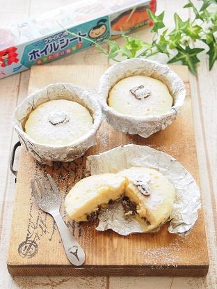蒸しチーズケーキ 完成3