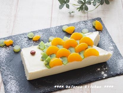お豆腐レアチーズケーキ こいのぼり2