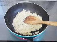 ひじき入り煎り豆腐工程1