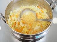 坦々スープ 工程4
