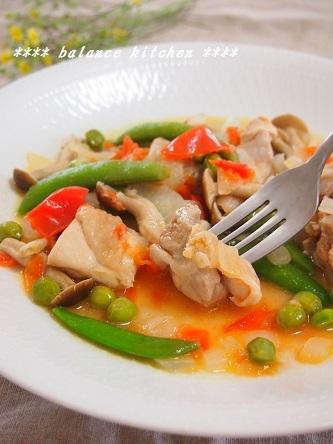 鶏肉と豆の軽い煮込4