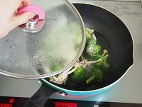 ブロッコリーと豆腐のしょうがあん工程1