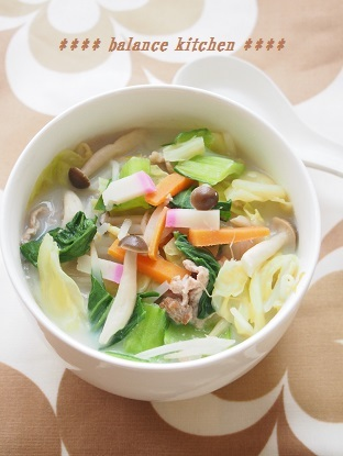 長崎ちゃんぽん風スープ3