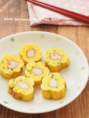 お花の卵焼き2