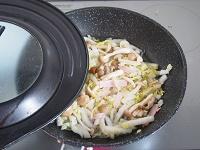 白菜ときのこの豆乳グラタン工程5