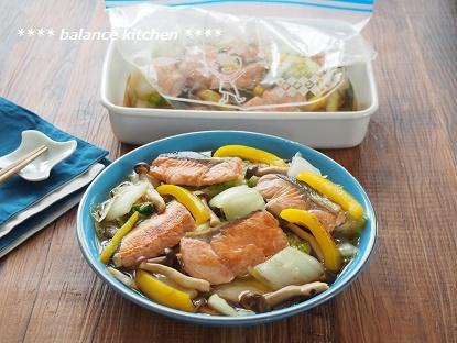 白菜と鮭の南蛮漬け2