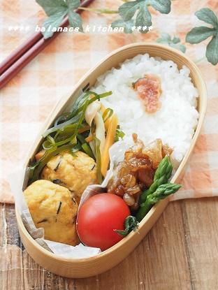 練り物と切り昆布の煮物 弁当1
