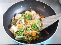 春野菜のチャンプルー工程3