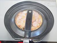 白菜と胸肉のみそバター煮工程2