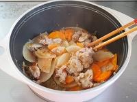 大根と豚肉の旨煮工程3