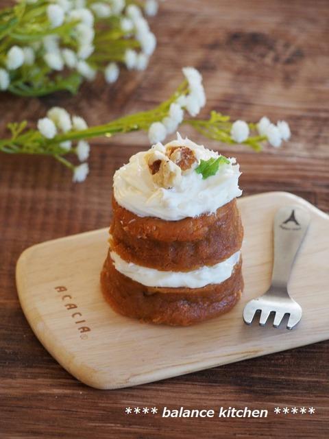 レンジキャロットケーキ1
