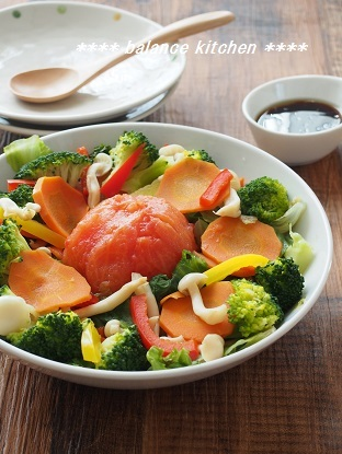 蒸し野菜サラダ2